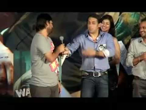 Salman Khan's Wanted act