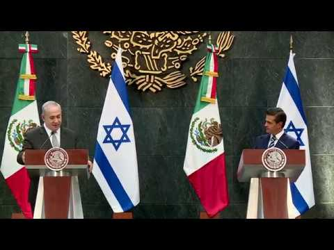 PM Netanyahu's Remarks following meeting with Mexican President Enrique Peña Nieto