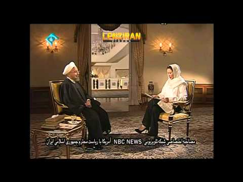 Us Relation With Iran And Jailed American Journalist In Hassan Rohani Interview With Nbc video