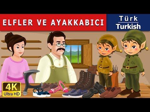 Elfler ve Ayakkabıcı - Masal - çoçuk masalları dinle - 4K UHD - Türkçe peri masallar