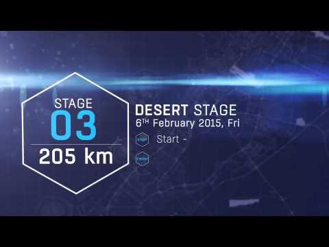 Dubai Tour 2015 - The 3rd Route Stage