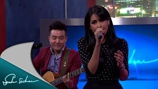 Maudy Ayunda Feat David Choi By My Side Performance Sarah Sechan Net