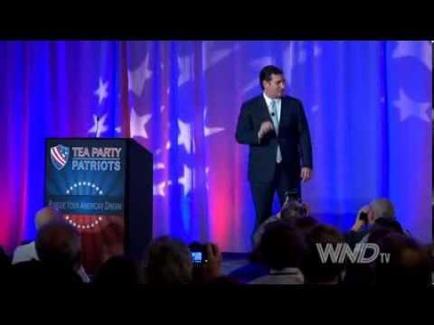 Senator Ted Cruz speaks at the Tea Party 5 Year Anniversary Event