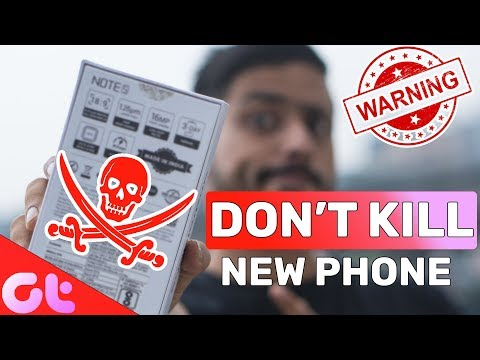 6 Things YOU SHOULD NEVER DO on your NEW PHONE!