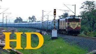 ET WAM4 INDORE - JAMMU TAWI MALWA EXPRESS WITH  2 ADDITIONAL BNP DEWAS COACHES