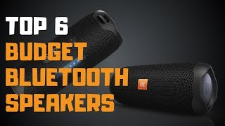 Best Budget Bluetooth Speakers in 2019 - Top 6 Budget Bluetooth Speakers Review