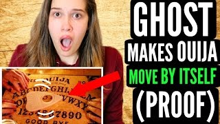 GHOST Makes Ouija Board Move By Itself! + PROOF!