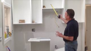 01.How to assemble & install IKEA Sektion wall cabinet