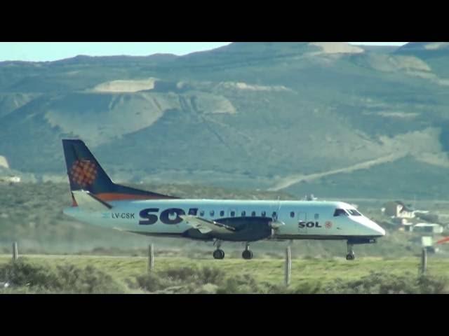 Aeropuerto Int. de Comodoro Rivadavia - DO 26 AGO 2012 (HD)