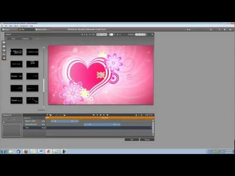 Pinnacle Studio 15 Tutorial- How to Make a Wedding Video Intro (3)