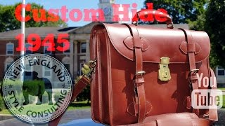 The Custom Hide Leather 1945 Briefcase Review