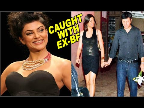 OMG!! Sushmita Sen caught with Ex-Boyfriend at Public Place