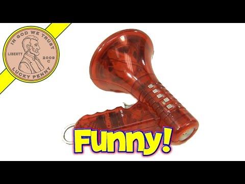 Toy Megaphone Sound Voice Modulator Changer Red Speaker Horn
