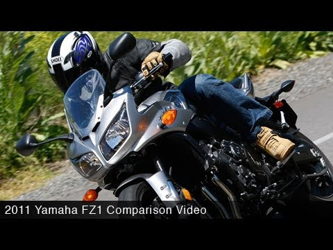 MotoUSA Road Sport Comparo:  2011 Yamaha FZ1