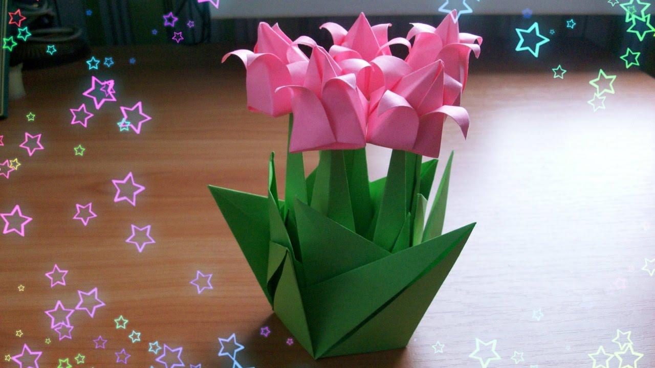 Цветок из бумаги на подарки 742