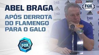 MENGÃO SUPERADO! Veja a coletiva de Abel Braga após derrota do Flamengo para o Galo