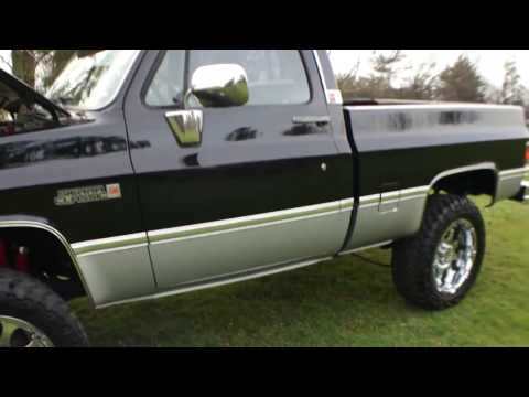 ~~REVIEW~~1985 GMC Sierra K20 K1500 Classic~Body Off Restoration~New Fuel Injected 454 Roller