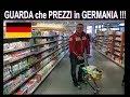 Lambrenedetto fa la spesa in Germania  !!! ( Italiano guarda che prezzi  )