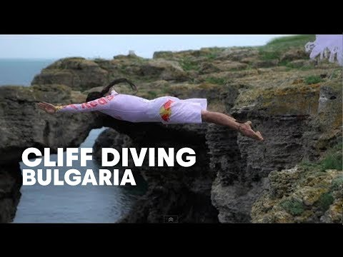 The perfect cliff diving location - Red Bull Cliff Search - Bulgaria