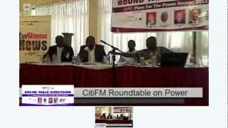 Citi FM Roundtable on Power Sector Pt 2