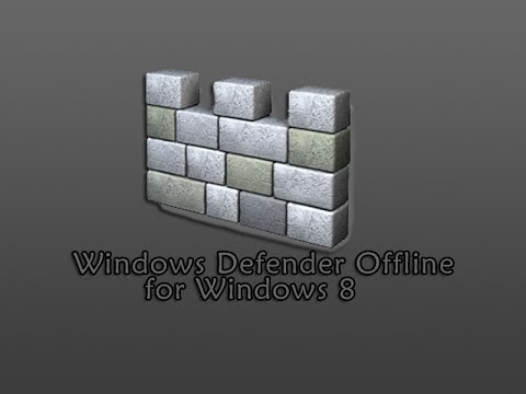 Windows Defender Offline for Windows 8