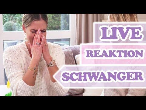 LIVE REAKTION SCHWANGER Ich konnte meine Tränen auch vor RTL nicht zurück halten!