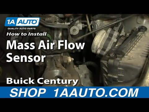 How To Install Replace Air Flow Meter GM 3100 3400 4.3L  V6 some 5.7L V8 1AAuto.com