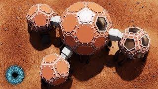 Elon Musks Pläne den Mars zu besiedeln: NASA hat Pläne für Häuser
