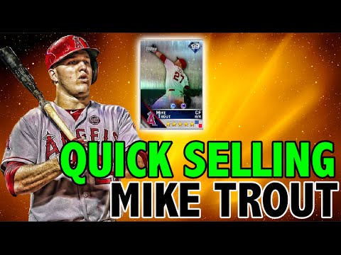 QUICK SELLING 99 OVERALL MIKE TROUT | EXTREME DIAMOND DYNASTY | MLB THE SHOW 16