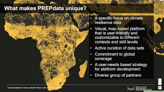PREPdata: Visualizing Data to Build Climate Resilience