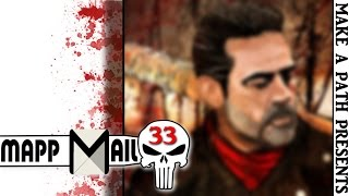 YOU GOTTA SEE THIS NEGAN ART | Juliet gets X-MAS EARLY! MAPP Mail 33