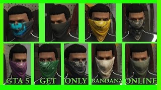 GTA 5 *NEW* How To Get The Bandana Without Hats And Glasses Online