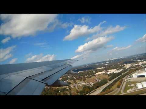 Delta Airlines Full Flight: Atlanta-Salt Lake City