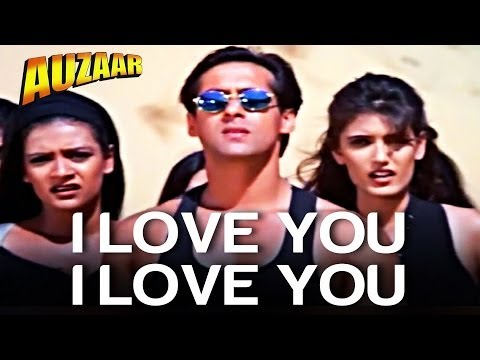 I Love You, I Love You - Auzaar | Salman Khan | Shankar Mahadevan | Anu Malik video