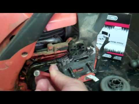 How to Replace A Sprocket on Husqvarna Chain Saw