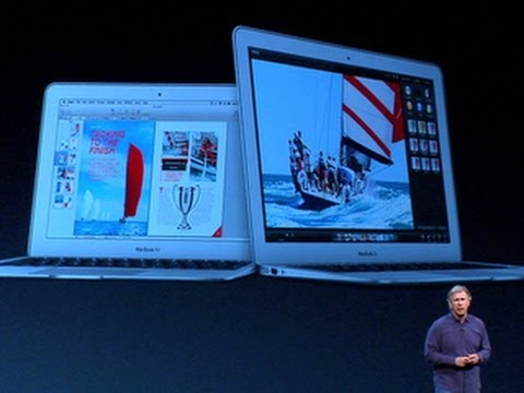 CNET News - Apple unveils new MacBook Air with improved battery life