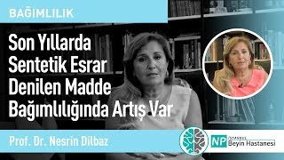 Son Yıllarda Sentetik Esrar Denilen Madde Bağımlılığında Artış Var-Prof. Dr.  Nesrin Dilbaz
