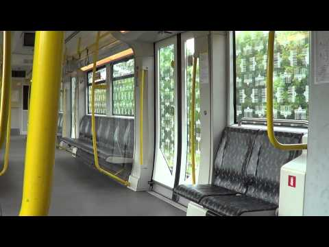 U-Bahn Berlin - Kurze Mitfahrt im H95 (5002 # U5)[HD 1080p]