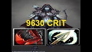 Warcraft 3 | Custom Hero Survival v2.6c | BIGGEST CRIT 9630 | ONLY 2 PASSIVES | Incredible game