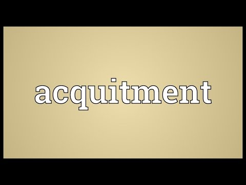 Header of Acquitment