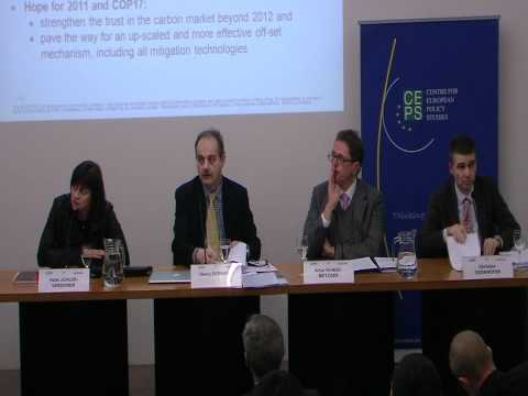 Climate Change policy post-Cancun (CEPS evening debate 12 January 2011) 1st part