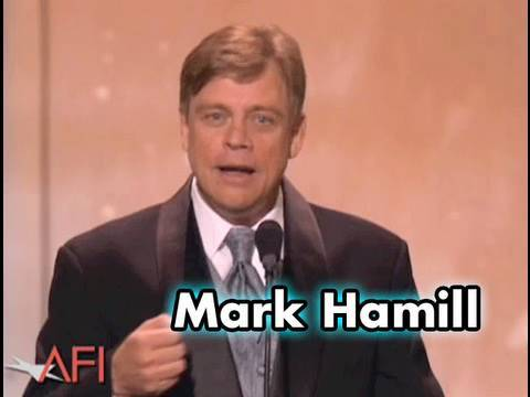 Mark Hamill Salutes George Lucas at the AFI Life Achievement Award