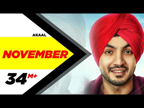 November | Akaal & Parmish Verma | Bittu Cheema | Latest Punjabi Video Song 2016