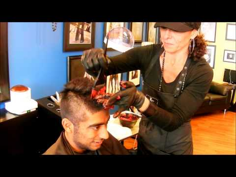 Amyn Soldier Mohawk Haircut and review of Haarmony Salon and Studio