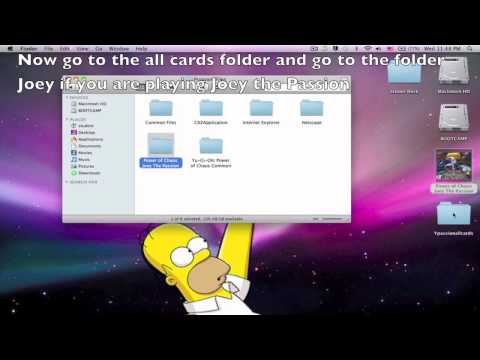 How to get all the cards in Yu-Gi-Oh!Power of Chaos Trilogy for mac
