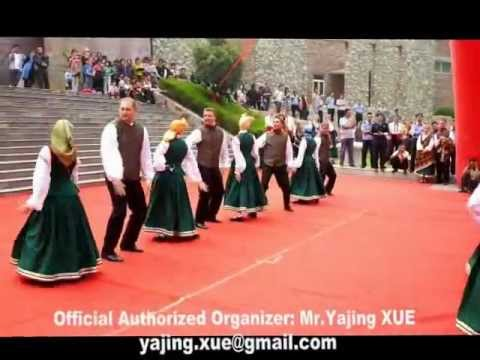 2012 China Luoyang Heluo International Culture Tourism Festival, Latvia Folk Dance Ensemble 2