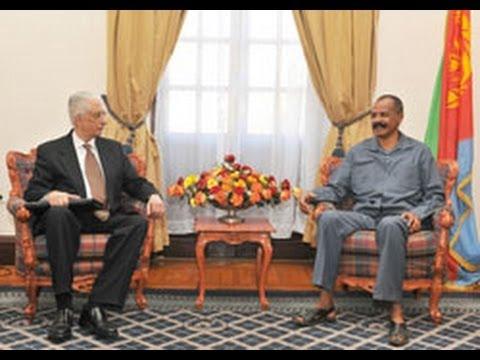 Eritrea: President holds talks with Egypt's Special Envoy- (Eri-TV News)