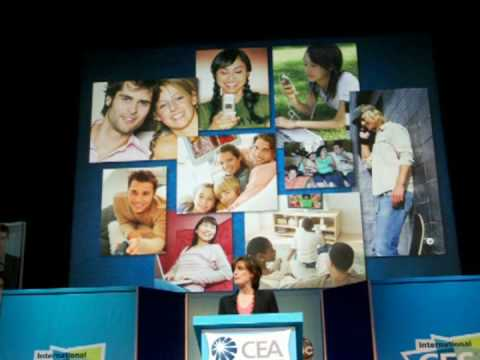 Disney-ABC's Anne Sweeney at the 2009 Consumer Electronics Show - Part 1 Video