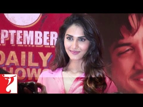 Sushant Singh Introduces Vaani To The Media - Launch Event Video - Shuddh Desi Romance