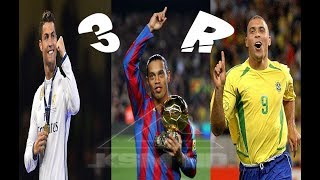CR7 vs R10 vs R9 • Skills Battle of Gods | HD